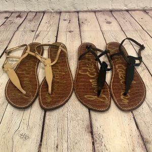 Bundle of Two!   Edelman Gigi Sandals - Size 9.5